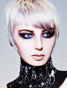 Large image of short blonde straight hairstyles provided by HOB Salons. Short Hair Cuts, Short Hair Styles, Classic Bob Haircut, Edgy Haircuts, Let Your Hair Down, Salon Style, Hair Shows, Short Blonde, Hair Pictures