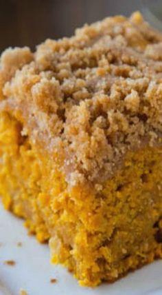 Apple Pumpkin Coffee Cake | pumpkin dessert recipes