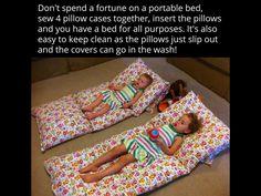 DIY portable beds!