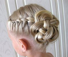 Cute Formal Hairstyles for Little Bridesmaids - vol.2!!!