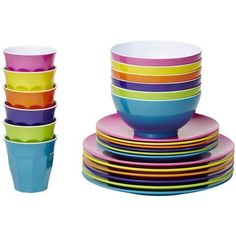 Fiesta Classic Pro Melamine Dinner Set by Barel Designs. Get it now or find more Dinner Sets at Temple & Webster. Outdoor Dinnerware, Dinnerware Sets, Melamine Dinner Set, Dinner Plates, Clean Break, Fiesta Colors, Picnic Set, Side Plates, Australia Living