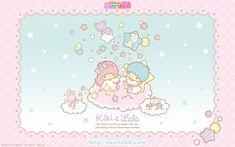 Little Twin Stars (Sanrio) Wallpaper Sanrio Wallpaper, Star Wallpaper, Hello Kitty Images, Pochacco, Hello November, Friends Wallpaper, Star Images, Character Wallpaper, Sanrio Hello Kitty