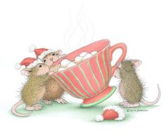 """""""Sharing warmth and friendship with you this Christmas."""" from House-Mouse Designs® are great for graphics."""