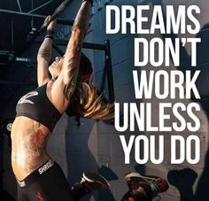 Work for it! Fitness motivation.