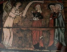 English medieval church painting - Google Search