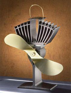 wood, stove, energy, heat, fan