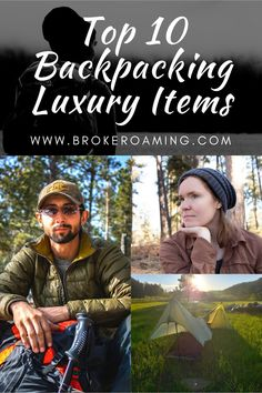 Top 10 Luxury Items To Take Backpacking — Broke Roaming Couples Camping, Women Camping, Camping With Kids, Thru Hiking, Hiking Tips, Hiking Gear, Backpacking For Beginners, Ultralight Backpacking Gear, Backpacking Meals