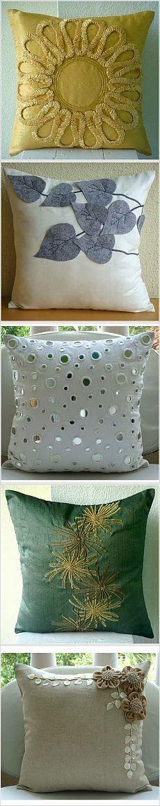 Для вдохновения: Очень много красивых подушек, идеи декора