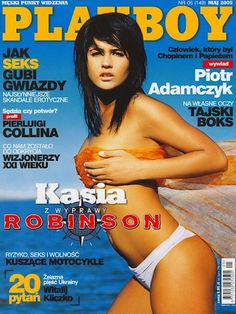 Playboy (Poland) May 2005  with Katarzyna Drzyżdżyk on the cover of the magazine