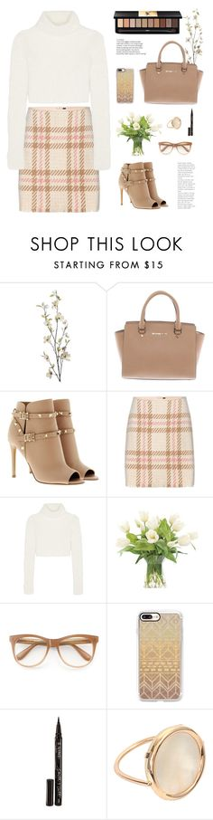 """""""11/20/2016"""" by aneetaalex ❤ liked on Polyvore featuring Pier 1 Imports, Michael Kors, Valentino, MARC CAIN, Roberto Cavalli, NDI, Wildfox, Casetify, Smith & Cult and Ginette NY"""