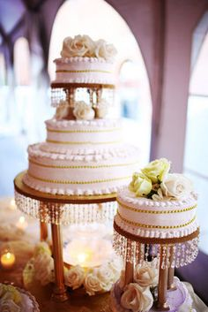 Intricate White Wedding Cake Photo By Angelica Glass