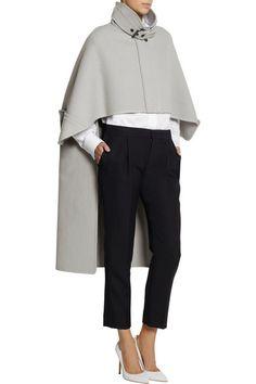 CHLOÉ Wool-blend felt cape