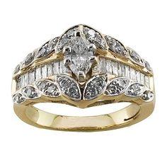 1 cttw Diamond Engagement Ring