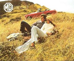 MG Midget advertisement, I can't believe I found this. I had this car in 90s, cool fun car.....but not very reliable:(
