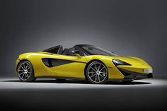 """McLaren reveal 570S Spider, to make public debut at Goodwood Festival of Speed McLaren Sports Series portfolio has been extended with the droptop version of the 570S, which the British manufacturer says is a """"convertible without compromise"""". The 570S Spider, the most attainable McLaren yet, is hand-assembled in England and has supercar attributes such as carbon-fibre construction and a mid-engined layout. It will be a two-seat, rear-wheel-drive convertible with """"extreme performance"""". The…"""