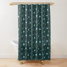 Bathroom Curtains, Shower Curtains, Confetti, Stars, Printed, Awesome, Pattern, Christmas, Design
