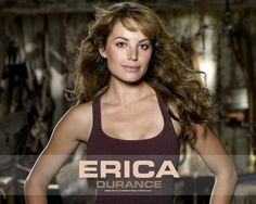 Wallpaper of ERICA DURANCE for fans of Erica Durance and Tom Welling.