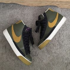 Women's Nike Blazers Worn only a few times, still in great condition. Comes with box Nike Shoes Athletic Shoes