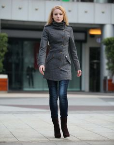 Cashmere/Wool Winter Coat, this is Lindsey's Closet...    By: Sophia Clothing on Etsy