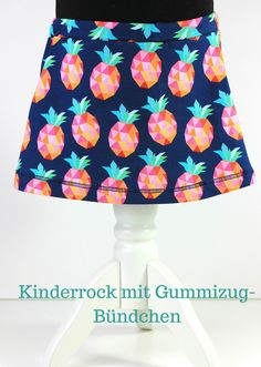 Kinderrock mit Gummizug-Bündchen