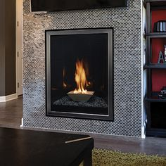 Empire Forest Hills 27 Portrait Style Contemporary Direct Vent Gas Fireplace | DVLL27 |