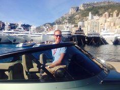 One of the fantastic skippers at Wajer and Wajer! Monaco Yacht Show 2015.