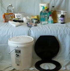 Making Your Own Sanitation Kit- for power outages with no water