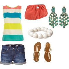 Summer Lovin, created by jessicawhite on Polyvore