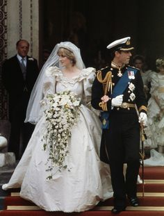 Princess Diana on her wedding day. If you know anything about history you understand and appreciate the majesty of her dress, if you are a total ignoramus you look at it and mock the sleeves. The dress was styled after one of Diana's ancestors'' wedding dresses who had gotten married during the Victorian era. The dress, with its puffy sleeves, was very indicative of the regal couture of the Victorian era and so was quite a work of art, especially in the very modern 1981, she looked…