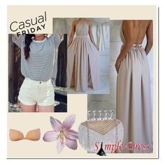 """Simple-dress #20"" by eminajamakovic ❤ liked on Polyvore featuring simpledress"