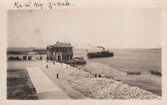 Bomboş bir Kadıköy iskelesi, 40'lı yıllar