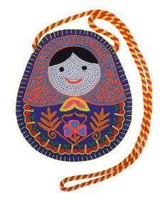 Take a look at this Babushka Crossbody Bag by Karma Living on #zulily today!