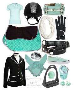"""Mint&Black"" by equestrianfashionofficial ❤ liked on Polyvore featuring Chooze, Morris, Wet Seal, Eos and Vans"