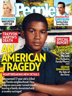 ON NEWSSTANDS 3/30/12: The death of Trayvon Martin – and the police decision not to arrest George Zimmerman – has devastated Martin's parents, set off a nationwide debate, and prompted President Obama to speak out in unusually personal terms. http://www.people.com/people/article/0,,20582259,00.html