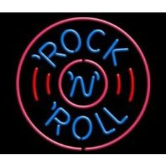 NEONSKYLT ROCK ´N´ ROLL