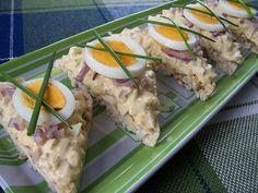Pikáns tojáskrém - Andi konyhája - Sütemény és ételreceptek képekkel