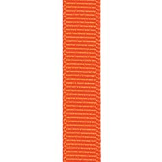 Grosgrain Ribbon - Torrid Orange