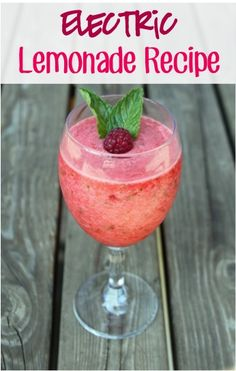 Electric Raspberry Lemonade