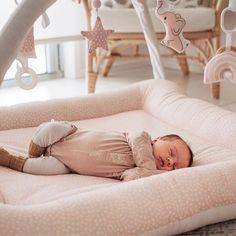 ♡ Activity Mat - Blush Scallops - Ready to ship ♡ Activity Mat, Sensory Toys, All White, Bag Storage, Bassinet, Cotton Canvas, Toddler Bed, Plush, Nursery