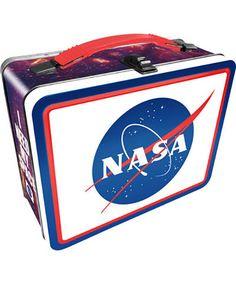NASA Logo Lunch Box #museumofflight