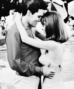 "Elvis Presley ♔and Shelley Fabares in ""SPINOUT"" 1966"
