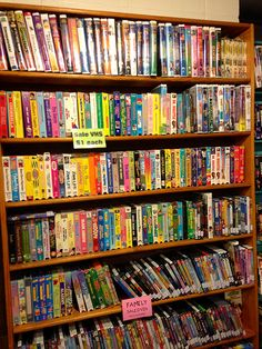 I Luv Video is HUGE and has over 60,000 titles to choose from. | http://austinitetips.com