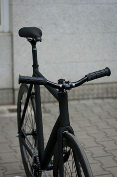 Nice all black fixie