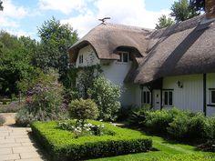 Author Enid Blyton's former house, Old Thatch near Bourne End, Buckinghamshire, England