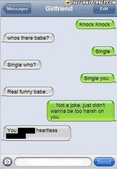 Knock Knock - The Most Brutal Break-Up Texts Ever 24