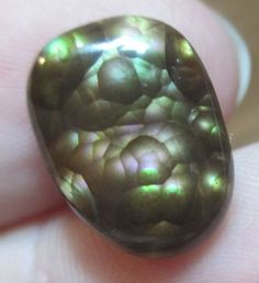 From Mexico All Natural Mexican Fire Agate Cab 15x11 Multicolored Mega Bubbles   eBay
