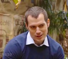 Are you directly flirting with me Cavill, cuz I'm very interested...lol!! :)