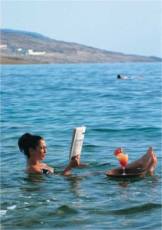 The naturally beautiful Dead Sea in Israel.. All Ahava products are ethically derived from the water, plants, mud and salts of the deadsea.