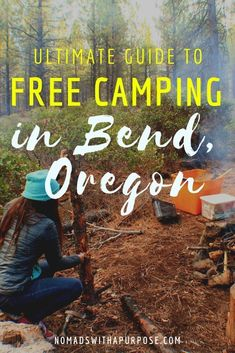 Free Camping Bend, Oregon: The Ultimate Guide. See where to hike and cycle, too. Some paid locations are also listed. Bend, Central Oregon, Oregon Coast, Portland Oregon, Oregon Camping, Oregon Travel, Van Camping, Travel Portland, Italy