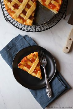 Kuchen de mermelada – Mi Diario de Cocina Waffles, Breakfast, Cake, Food, Spaces, Mini, Instagram, Homemade Cupcake Recipes, Tortilla Pie